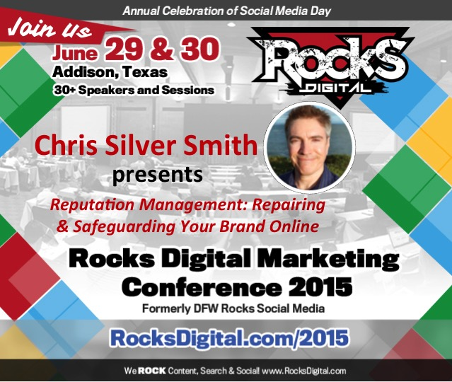 Chris Silver Smith Reputation Management Dallas