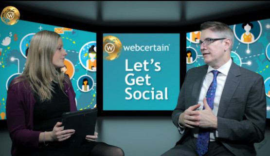 Chris Silver Smith interviewed by Gemma Birch on Webcertain TV about Online Reputation Management