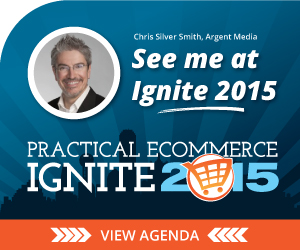 Chris Silver Smith at Practical Ecommerce Ignite