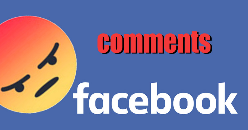 How to hide Facebook comments setting