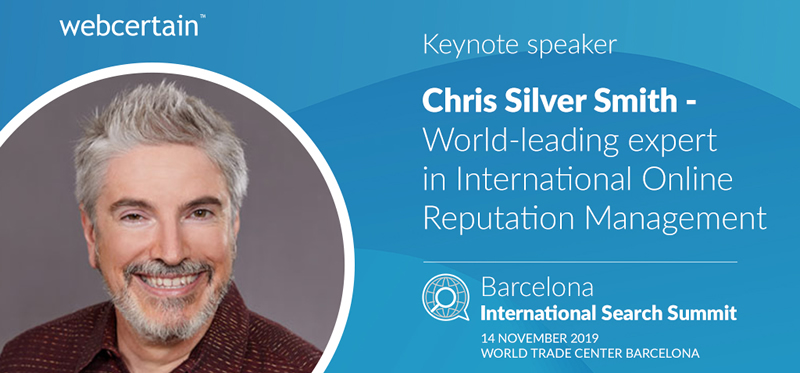 Chris Silver Smith - Keynote Speaker at International Search Summit, Barcelona